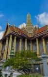 Wat Phra Kaew, Templae van Emerald Buddha Stock Foto