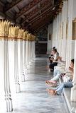 Wat Phra Kaew Temple. Thai traditional angle in Wat Phra Kaew Temple , bangkok Thailand Stock Photos