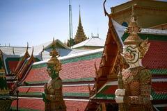 Wat phra kaew temple Royalty Free Stock Photo