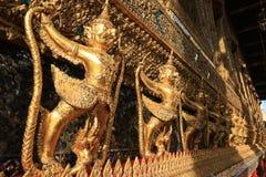 Wat Phra Kaew Temple, Bangkok, Thaïlande Photos stock
