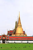 Wat phra kaew of temple Bangkok, Thailand Royalty Free Stock Photos
