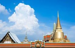 Wat Phra Kaew temple in Bangkok - Thailand Stock Image