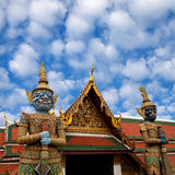 Wat Phra Kaew temple in Bangkok, Thailand. Royalty Free Stock Photos