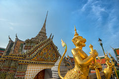 Wat Phra Kaew temple building in Bangkok Royalty Free Stock Image