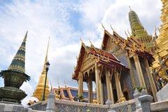 Wat Phra Kaew, temple d'Emerald Buddha, Bangkok, Thaïlande Photographie stock libre de droits