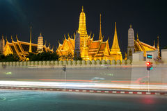 Wat Phra Kaew, temple d'Emerald Buddha, Bangkok, Thaïlande photos stock