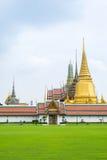 Wat Phra Kaew (temple d'Emerald Buddha), Bangkok, Thaïlande Photographie stock libre de droits