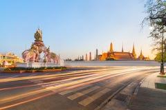 Wat Phra Kaew, temple d'Emerald Buddha, Bangkok, Thaïlande Photos libres de droits