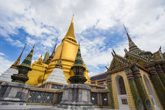 Wat Phra Kaew, temple d'Emerald Buddha, Bangkok, Thaïlande Photo libre de droits