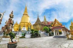 Wat Phra Kaew Temple de Emerald Buddha Imágenes de archivo libres de regalías