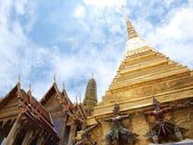 Wat Phra Kaew Temple di Emerald Buddha Immagini Stock Libere da Diritti