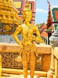 Wat Phra Kaew, Temple of the Emerald Buddha stock image