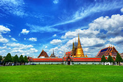 Wat Phra Kaew (Temple of the Emerald Buddha) Stock Photography