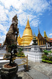 Wat Phra Kaew (Temple of the Emerald Buddha) Royalty Free Stock Photos