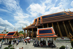 Wat Phra Kaew (Temple of the Emerald Buddha) Royalty Free Stock Images