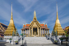 Wat Phra Kaew, Temple of the Emerald Buddha, Bangkok, Thailand. Stock Photography