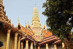 Wat Phra Kaew, Temple of the Emerald Buddha, Bangkok Stock Images
