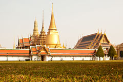 Wat Phra Kaew, The Temple of the Emerald Buddha Stock Photo