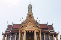 Wat Phra Kaew, Temple of the Emerald Buddha. Bangkok, Thailand stock images