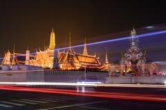 Wat Phra Kaew, Temple of the Emerald Buddha. In Bangkok, Thailand Stock Images