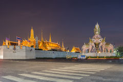 Wat Phra Kaew or Temple of the Emerald Buddha Royalty Free Stock Photos