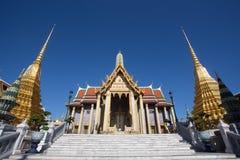 Wat Phra Kaew, Temple of the Emerald Buddha, Bangkok, Thailand. Royalty Free Stock Photography