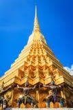 Wat Phra Kaew, Temple of the Emerald Buddha, Bangkok Royalty Free Stock Photography