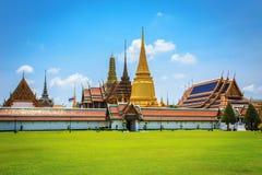 Wat Phra Kaew, Temple of the Emerald Buddha, Bangkok Stock Photos