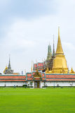 Wat Phra Kaew (Temple of the Emerald Buddha), Bangkok, Thailand.  Royalty Free Stock Photography