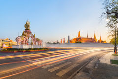 Wat Phra Kaew, Temple of the Emerald Buddha, Bangkok, Thailand Royalty Free Stock Photos