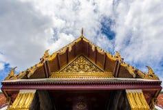 Wat Phra Kaew. Temple of the Emerald Buddha, Bangkok, Thailand Royalty Free Stock Photo