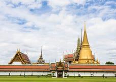 Wat Phra Kaew. Temple of the Emerald Buddha, Bangkok, Thailand Stock Photos