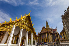 Wat Phra Kaew,  Temple of the Emerald Buddha. Bangkok. Royalty Free Stock Image