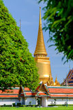 Wat Phra Kaew. Temple of the Emerald Buddha, Bangkok, Thailand Stock Images
