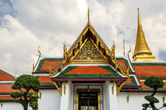 Wat Phra Kaew. Temple of the Emerald Buddha, Bangkok, Thailand Royalty Free Stock Image
