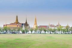 Wat Phra Kaew, Temple of the Emerald Buddha, Bangkok, Thailand Stock Image