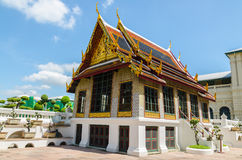 Wat Phra Kaew, Temple of the Emerald Buddha, Bangkok, Thailand. Stock Photo