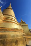 Wat Phra Kaew, Temple of the Emerald Buddha, Bangkok, Thailand. Wat Phrasrirattana Sasadaram (Wat Phra Kaeo), or the Temple of the Emerald Buddha Stock Photo