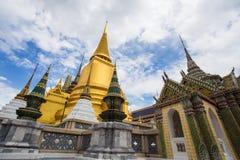 Wat Phra Kaew, Temple of the Emerald Buddha, Bangkok, Thailand. Thai Royalty Free Stock Photo