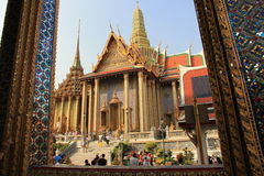 The Wat Phra Kaew Stock Photos