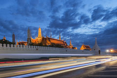 Wat Phra Kaew, Temple of Emerald Buddha or Grand Palace, Bangkok, Thailand Royalty Free Stock Photos