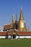 Wat Phra Kaew, the Grand Palace. Bangkok Thailand. Wat Phra Kaew, Temple of the Emerald Buddha, main temple in the Grand Palace. Bangkok Thailand royalty free stock photo