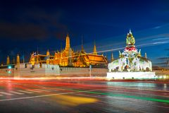 Wat Phra Kaew or Temple of the Emerald Buddha. Thailand Stock Photo