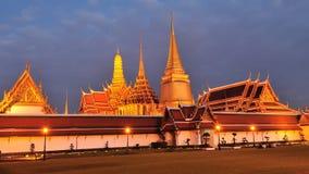 Wat Phra Kaew, Temple of the Emerald Buddha, Thailand Royalty Free Stock Photos