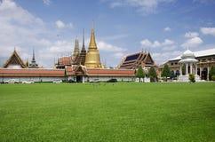 Wat Phra Kaew Temple of the Emerald Buddha or Wat Phra Si Rattan Stock Photos