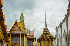 Wat Phra Kaew Temple. The famous 'Wat Phra Kaew' temple in Bangkok, Thailand Stock Photo