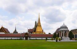 Wat Phra Kaew Temple, grande palazzo, Bangkok, Tailandia Fotografie Stock