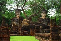 Wat Phra Kaew Temple, het Historische Park van Khampangphet, Thailand stock foto