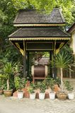 The Wat Phra Kaew temple is one of the oldest and most revered B Royalty Free Stock Photo