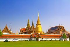 Wat Phra Kaew, Temple of Thailand. Royalty Free Stock Photo